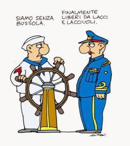Una vignetta di Altan.