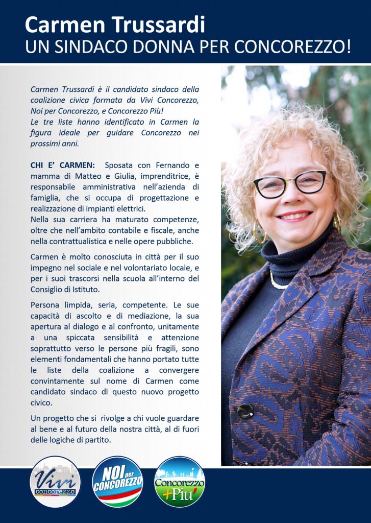 Volantino Carmen RETTANG-FRONTE